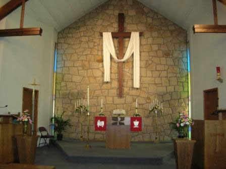 Prince of Peace Church Interior